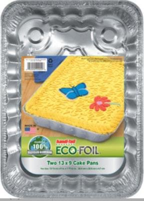 Handi-Foil Utility Cake Pan 2-Count Eco (Pack of 15)