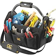 22-Pocket Lighted Open Top Tool Bag-22PKT 15