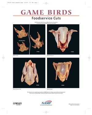 North American Meat Processors Game Birds Notebook Guides, Revised - SET of 5 by NAMP North American Meat Processors Association