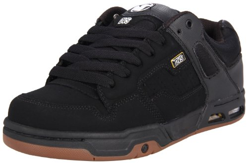 DVS Men's Enduro Heir Skate Shoe,Black/Gum,10.5 M US