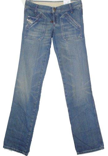 Diesel -  Jeans  - Straight  - Donna blu