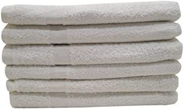 DeRoyal TTWHITE16X273LB-CAM Thirsty All Purpose Terry Hand Towels 12-Piece
