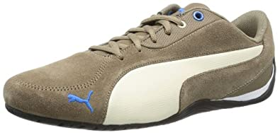 Puma Drift Cat 5 S 304689 Herren Sneaker, Braun (fossil-white swan 06), EU 36 (UK 3.5) (US 4.5)