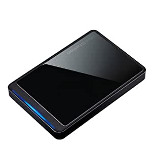 Buffalo MiniStation Stealth 500 GB USB 2.0 Portable Hard Drive - HD-PCT500U2/B