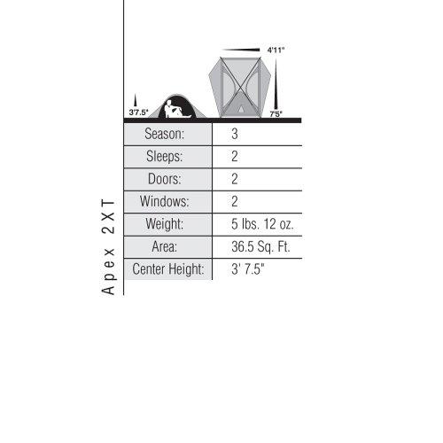 Eureka-Apex-2XT-Two-Person-Tent  sc 1 st  Discount Tents Nova & Eureka! Apex 2XT Two-Person Tent | DiscountTentsNova