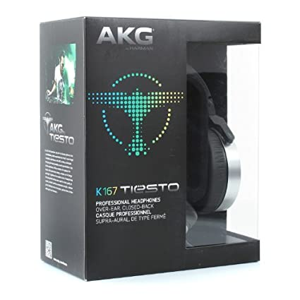 AKG K167 On Ear Headphones