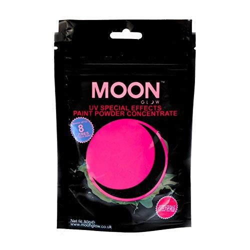 moon-glow-80g-uv-farbpuder-rosa-party-puderkonzentrat-mit-neon-spezialeffekt-ergibt-bis-zu-8-liter