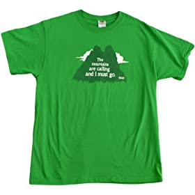The Mountains are Calling, and I Must Go | Backpacking, Hiking Unisex T-shirt