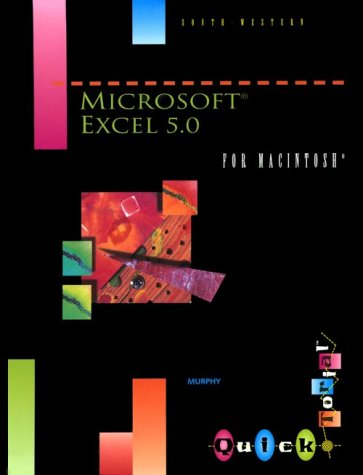Microsoft Excel 5 0 for Macintosh Quicktorial
