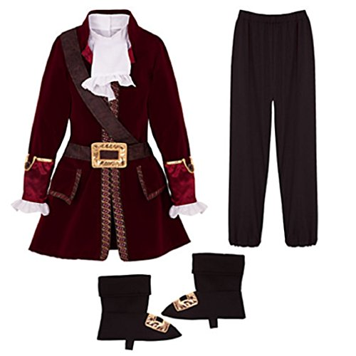 Disney Captain Hook Costume for Boys - Size 3 - New