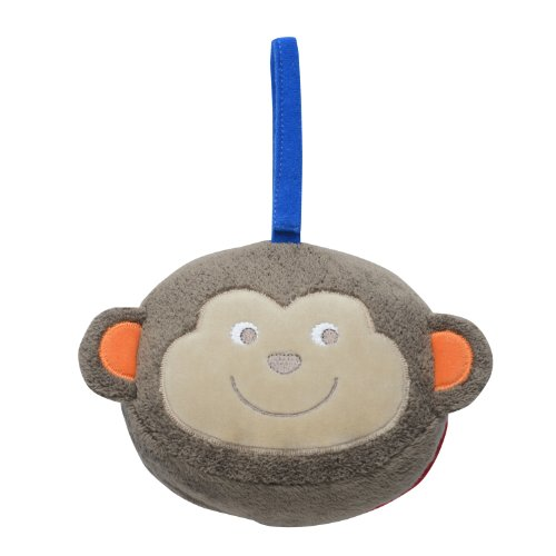 Babystarters Plush Book, Brown - 1