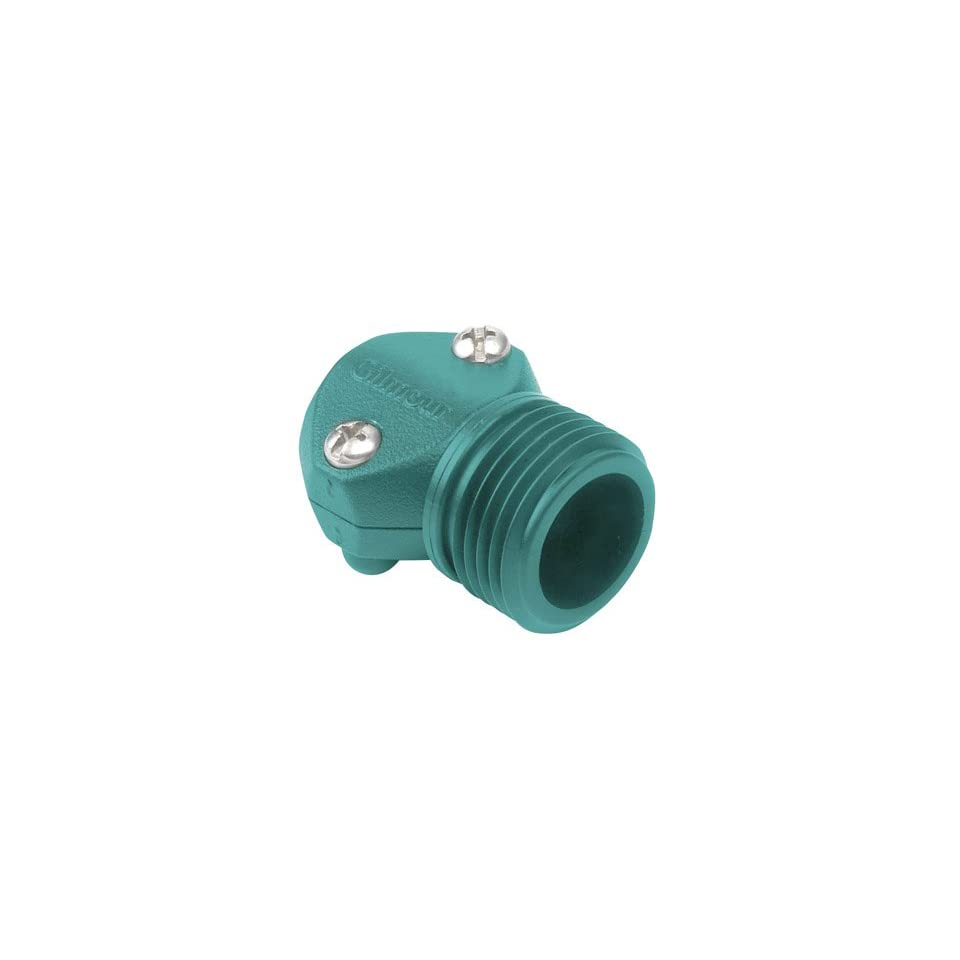 Garden Hose Mending Clamp, Male Clamp, fits 7/16, 9/16, 1/2, Gilmour 05m