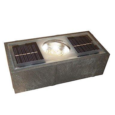 0.1W Solar Powered Underground Led Light Stainless Steel