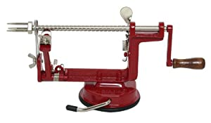 Industry Standard Multifunctional Fruit and Vegetable Cutter - RED - Apple, Pear, Orange,... by ADMIRALTY