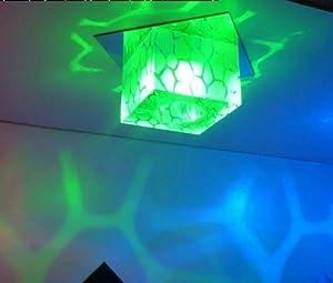 Nilight(TM) Modern Crystal LED Ceiling Light Pendant Lamp Fixture Lighting Chandelier (green) from Nilight