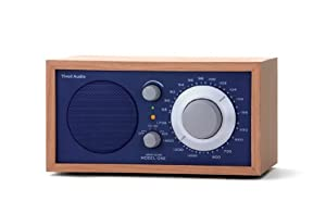 Tivoli Audio Model One AM/FM Table Radio, Cherry/Cobalt Blue