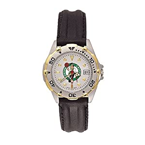 Boston Celtics Ladies NBA All-Star Watch (Leather Band) by NBA Officially Licensed