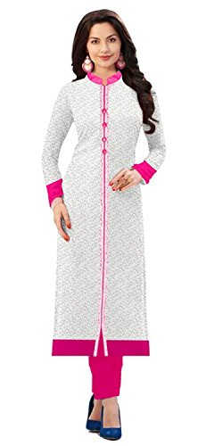 Womens-Latest-Fashion-Designer-Fancy-Party-Wear-Collecton-Todays-Fetive-Offer-Low-Price-All-Type-Of-Modern-Russel-Net-White-Pink-Straight-Kurti