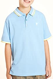 Pure Cotton Short Sleeve Pique Polo Shirt [T87-2175D-S]