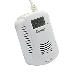 Plug-In Combustible Gas Detector LPG LNG Coal Natural Gas Leak Alarm Sensor With Voice Warning Alarm Sensor Home Secrity by Contast