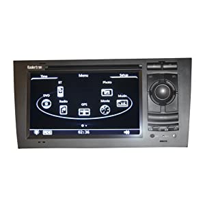 Rupse For Audi A6 Car In Dash DVD With GPS Sat Navi Navigation System And 7 Inch TFT LCD Touchscreen Monitor