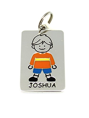 Ganz Kids Tag Charms - My Kids Keyring and Necklace - JOSHUA - 1