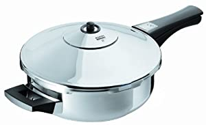 Kuhn Rikon Duromatic Energy Efficient Pressure Cooker - Frying Pan