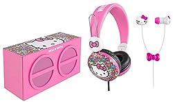 Hello Kitty SH1-01009 3-In-1 Stereo Pack Earphones
