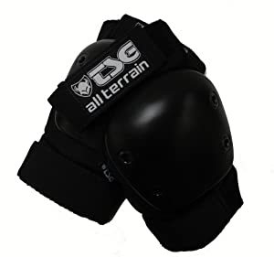 TSG All Terrain Black Elbow Pad (Large)