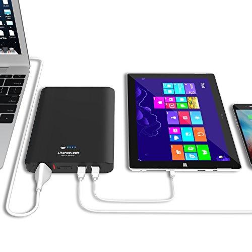 ChargeTech - Portable AC Outlet Battery Pack 27000mAh 95W / 110V (TSA...