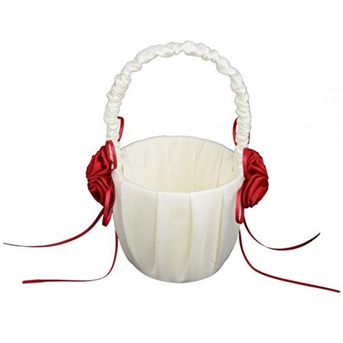 winever-flower-girl-carrello-per-abito-da-sposa-in-panno-bianco-e-rosso