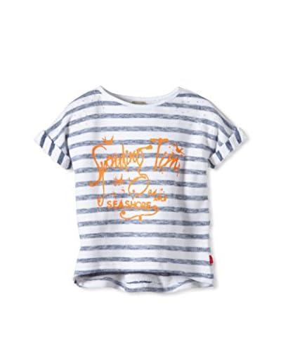 Name It T-Shirt Manica Corta [Blu/Bianco]