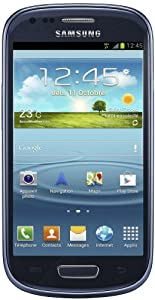 Samsung Galaxy S III mini GT-I8190 Smartphone Android 4.1 GSM/HSPA+ Bluetooth Wifi Bleu métallique