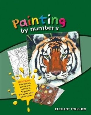Paint by Numbers Art Kit- Chimpanzee - 1