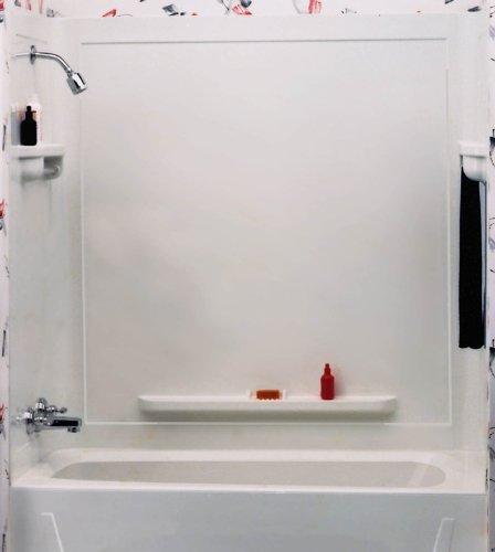 ASB 36860 Seamless Tub Wall, White