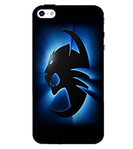 APPLE IPHONE 4S TIGER Back Cover by PRINTSWAG