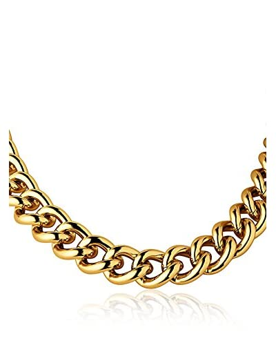 Dyrberg/Kern Collar Fundrina Shiny Gold Dorado