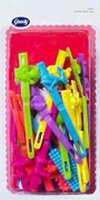 Goody Kiddie Barrette Value Pack, 30-Count #5516 (6-Pack)