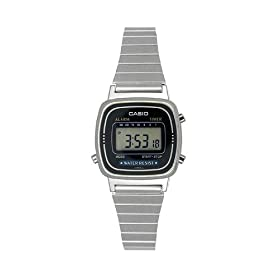 Casio Women's Daily Alarm Digital Watch #LA670WA-1