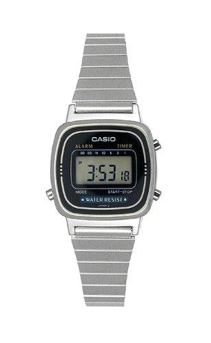 Casio Women's Daily Alarm Digital Watch #LA670WA-1