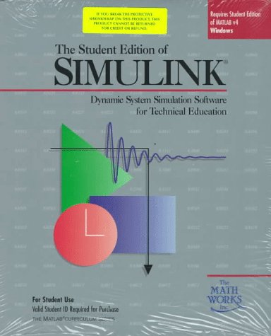 Student Edition of Simulink Version 1-Windows Version (Matlab Curriculum Series)