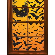 Martha Stewart Crafts Window Cling, Bat Swarm