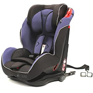 iSafe S06W Isofix Duo Trio Plus Isofix and Top Teether Car Seat (Indigo)