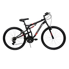 Huffy Bicycle Company Mens Dual Suspension Terrain Bike, Matte Charcoal, 26-Inch by Huffy