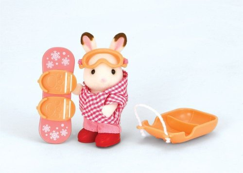 Calico Critters Winter Sports Fun Playset