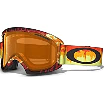 Oakley 02 XL Snow Goggle, Shockwave Fire with Persimmon Lens