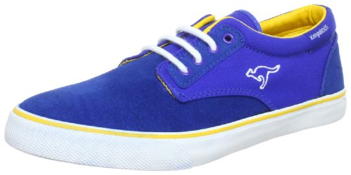 KangaROOS Dimitri Trainers Men blue Blau (royalblue/peanut 478) Size: 7 (41 EU)