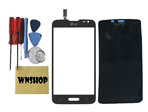 Original New Touch Screen Digitizer Glass Lens For LG ULTIMATE 2 II L41C Black + Free Adhesive + Free Tool Kit USA