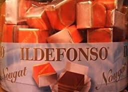 Ildefonso Nougat, 80 Pieces With Total 800 GRAMS in one BOX