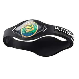 Power Balance / GWSA09BK00WTLP Bracelet silicone Noir/Blanc S